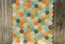 Hexagons & EPP / by Brazen J