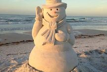 Sand and Ice Sculptures / by Janis Malerich