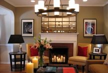 Decor - Living room / by Heather Andrus