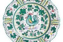 Deruta porcelán