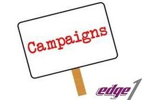 Edge1 Outdoor Media Management Software Manages Campaign / Edge1 Outdoor Media Management Software manages all your Bookings, Blockings, FOC, Rotational, Removal, Extension of Campaigns.