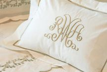 Embroidered Bed Linen / Design ideas for bed linen
