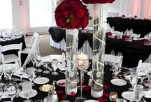 Matrimonios Rojo, blanco y negro