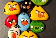 angry birds kamene