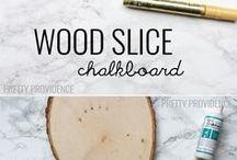 Wood slice ideas