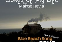 BBS Collection FOUR   Songs by Martie Hevia / 'Blue Beach Song Collection: FOUR   Songs of My Life by Martie Hevia' is the fourth album in my Blue Beach Song Collection series. As a singer-songwriter, lyrics and melody have always been the heart of my music. My original compositions intimately express my own, yet universal, emotional journeys and life stories in an Acoustic-Indie-Pop-Rock-Folk style, written for voice and guitar. The recordings are simple, acoustic, one-takes. As you will hear, I am a work in progress!