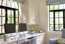 Home work space / by Anjanette Cottingim