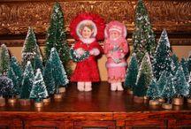 Spun Cotton Ornaments / by Darlene Gengelbach