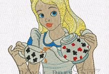 machine emb characters & fairy tale