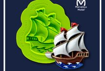 Ocean and Seashell Mold Collection / Ocean and Seashell Molds - A Collection of Beautiful, Tropical Seashells and Nautical Theme Molds  / by Marvelous Molds