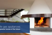 Gas Applications / Go green in your home with gas products and gas appliances, such as gas braais, gas fireplaces and gas geysers.