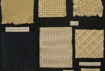 fabrics: embroided, printed, manipulated