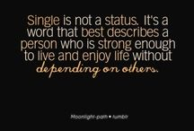 Being single isn't a disease