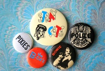 Band Buttons / Musician and band buttons