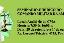 Seminário Jurídico do Comando Militar da Amazônia - 2015
