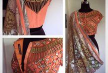 saris and blouse