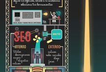 Infografías / Infografías de temas varios. Diseño.
