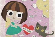 Diseños de La Gata Bernarda / Todos los diseños mas gatunos al alcance de tu zarpita.