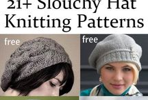 Knitting- Hats, Scarves, Mitts / Keep your brain warm.