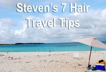 Travel! Take me away... / The tools and the tips to keep you and your hair happy and healthy and your next trip!  With some destination dreaming thrown in!