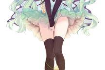 Hatsune Miku / Das sind pics die ich persönlich gut finde :)
