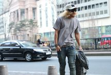 ByTheR- Modern Urban Casual Charismatic Special Force Agent Street Style Fashion / http://en.byther.kr/