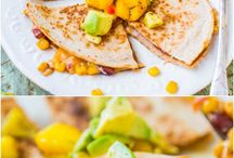 Taco Fruits and Veggies / Food ideas for weight loss