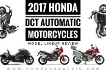 2017 Honda DCT Automatic Motorcycles / Model Lineup Review of all Auto Bikes / 2017 Automatic Honda Motorcycle Reviews / DCT Bikes at www.HondaProKevin.com