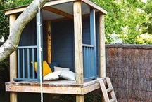 Tree house blondu