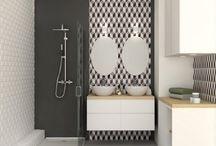 salle de bains et douche