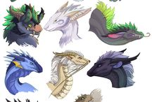 Эскиз дракона