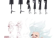 Character Design / by Shannon Day