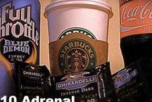 Health adrenal glands