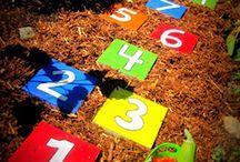 Мульча на детской площадке