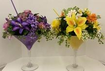 Kukka-asetelmat ja koristelu
