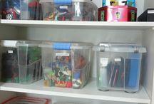 Como organizar brinquedo