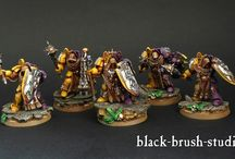 Yellow-purple Space Marines