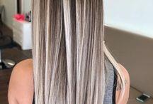 Cheveux long effet blond