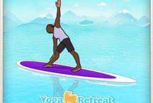 Yoga Retreat SUP Yoga