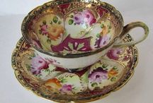 TEA CUPS & SAUCERS ❤️ / Tea cups an Saucers from long ago. Don't forget I have a 40 pins per day limit.  / by Debbie Campbell