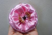 Flores con pliegues