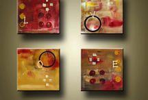 pintura acrilica abstracta