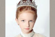 Flower Girl Tiara Crown Hair Accessories