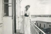 Otma sesión en el balcón del Lazareto en 1916