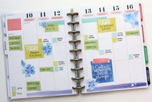 The Happy Planner / Planner ideas, layouts, printables etc.