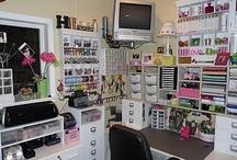craft/sewing/scrap room organize