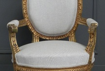 Throne type chair