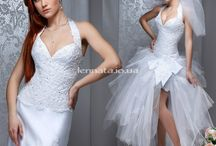 Свадебные платья -трансформеры, коротки, стильные, модные