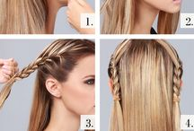 Hair / Different styles of hair/ length/ design.  DIY hair ideas
