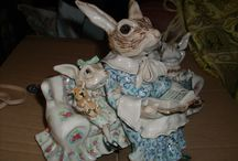 Tolley pottery figures / Does anyone know anything about who the makers of these figures is? they are both inscribed Tolley to the bases